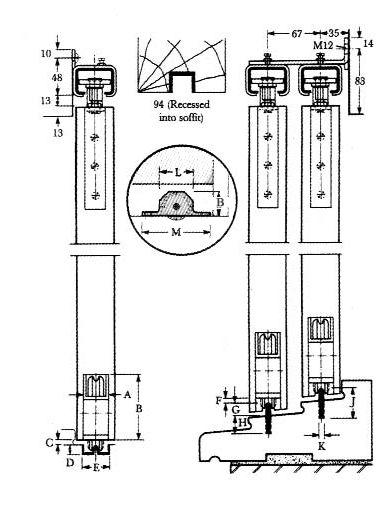 Multi Slide Patio Door Heavy Duty Bottom Door Track Systems