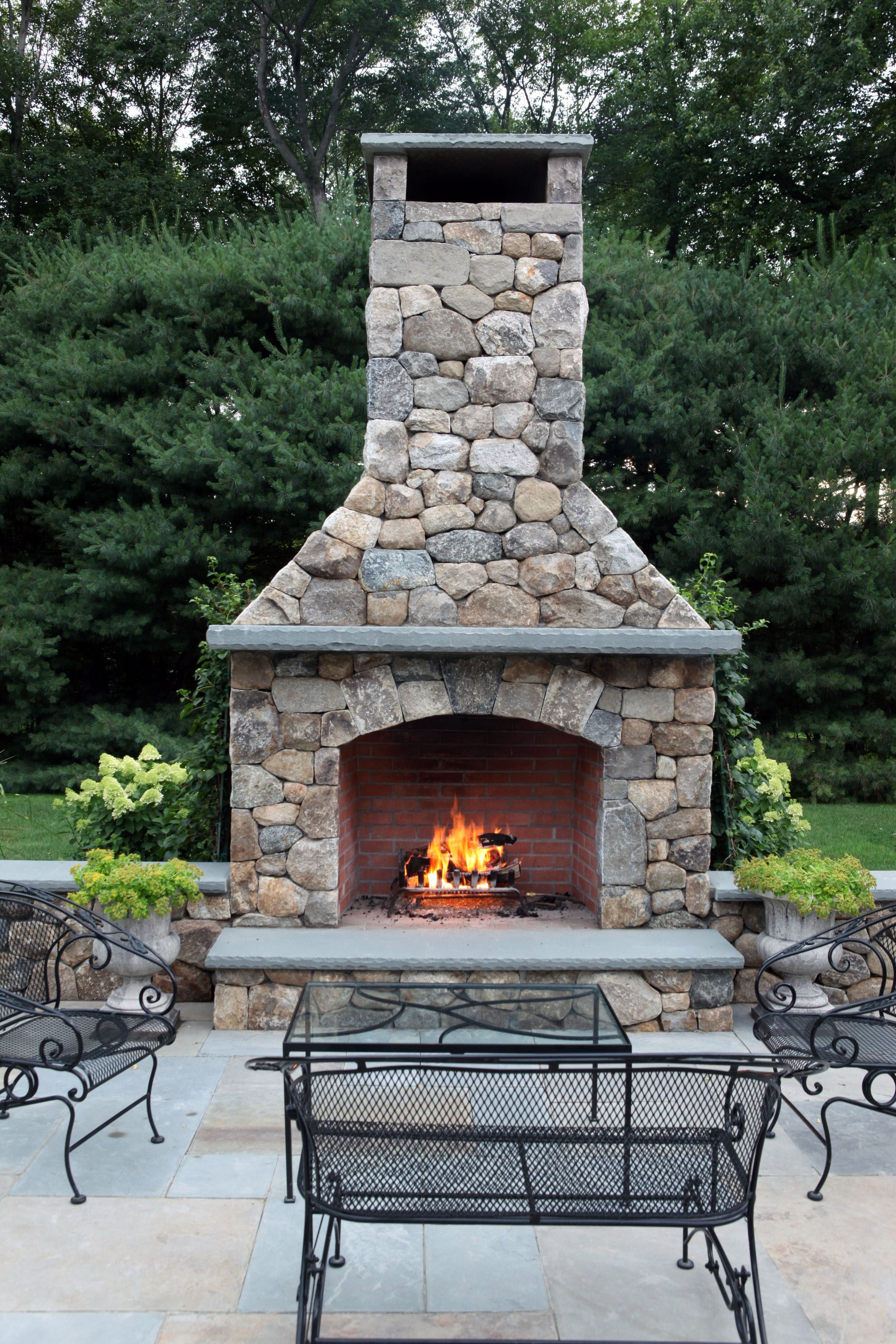 FIRE PLACE DESIGN CONCEPTS FOR An ELEGANT EXTERIOR SPACE ...