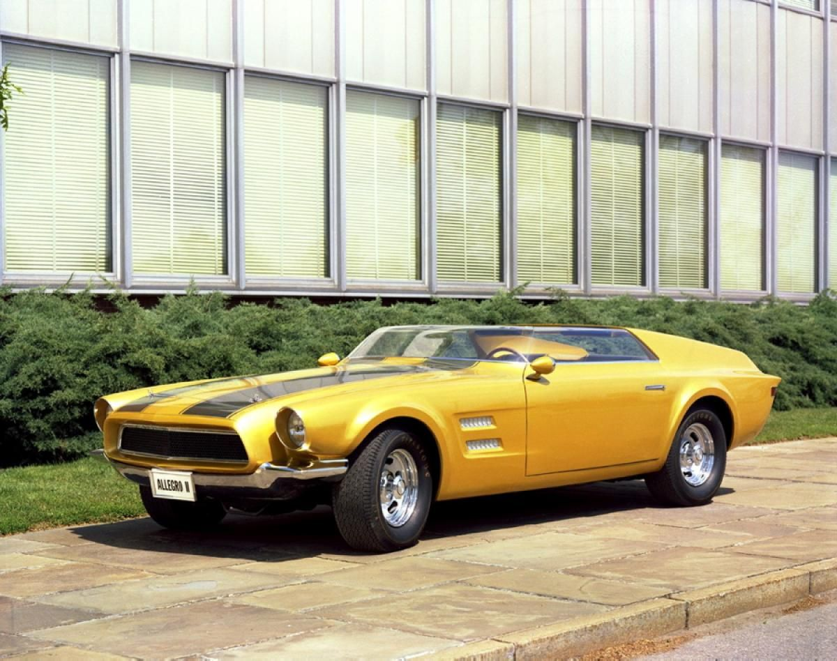 1967 Allegro Ii Concept Photos Wild Ponies Ford Mustang Concept Cars That Never Made It To The Lot Belle Voiture Voiture Citroen Voiture