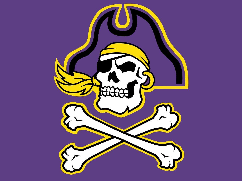 East carolina pirates ecu logos pinterest