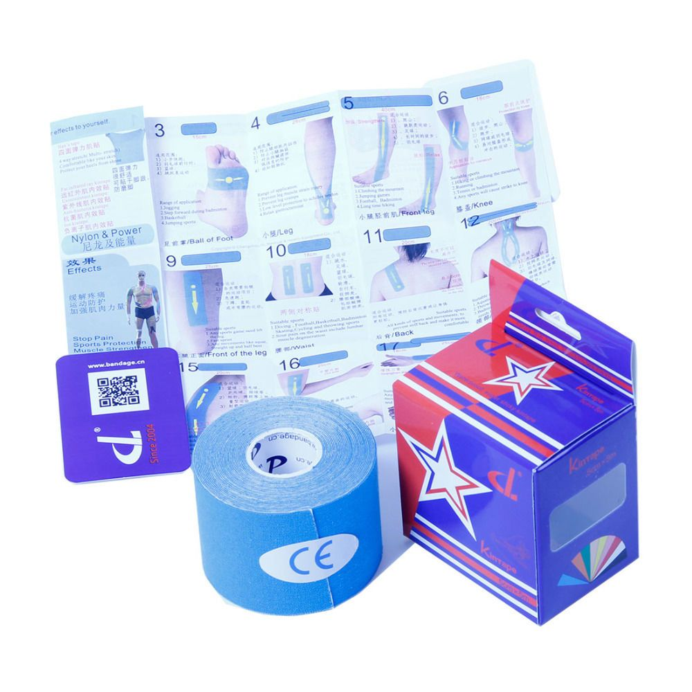 Kinesiology Tape W/ Or W/out Kintape Box Manual Elastic ...