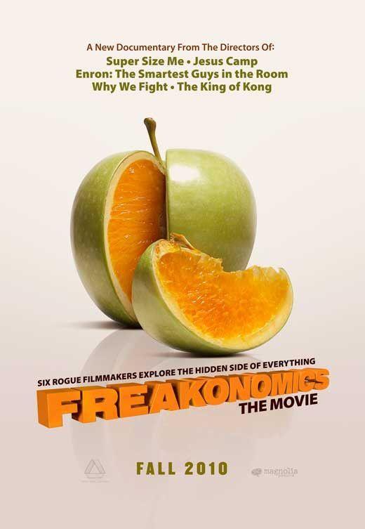 Freakonomics 11x17 Movie Poster 2010 Freakonomics Documentaries Movies