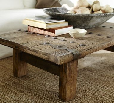 Hastings Reclaimed Wood Coffee Table I Like The Fact That It Looks A Door By Sharonsparkles