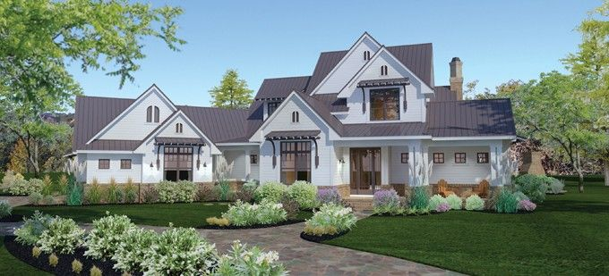 Farmhouse House Plan With 2984 Square Feet And 3 Bedrooms From Dream Home Source Farmhouse Style House Modern Farmhouse Exterior Farmhouse Style House Plans