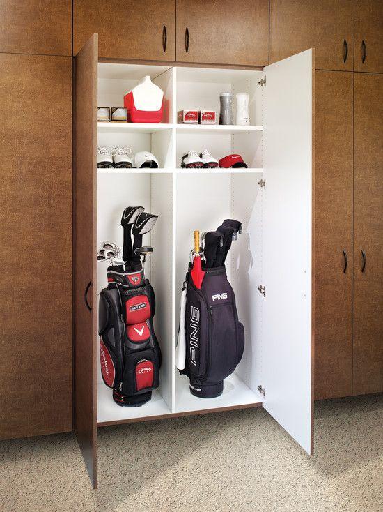 Golf Club Storage Storage Garage Garage Cabinets