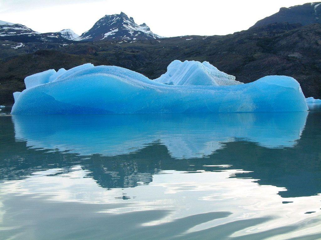Tempanos a Perito Moreno