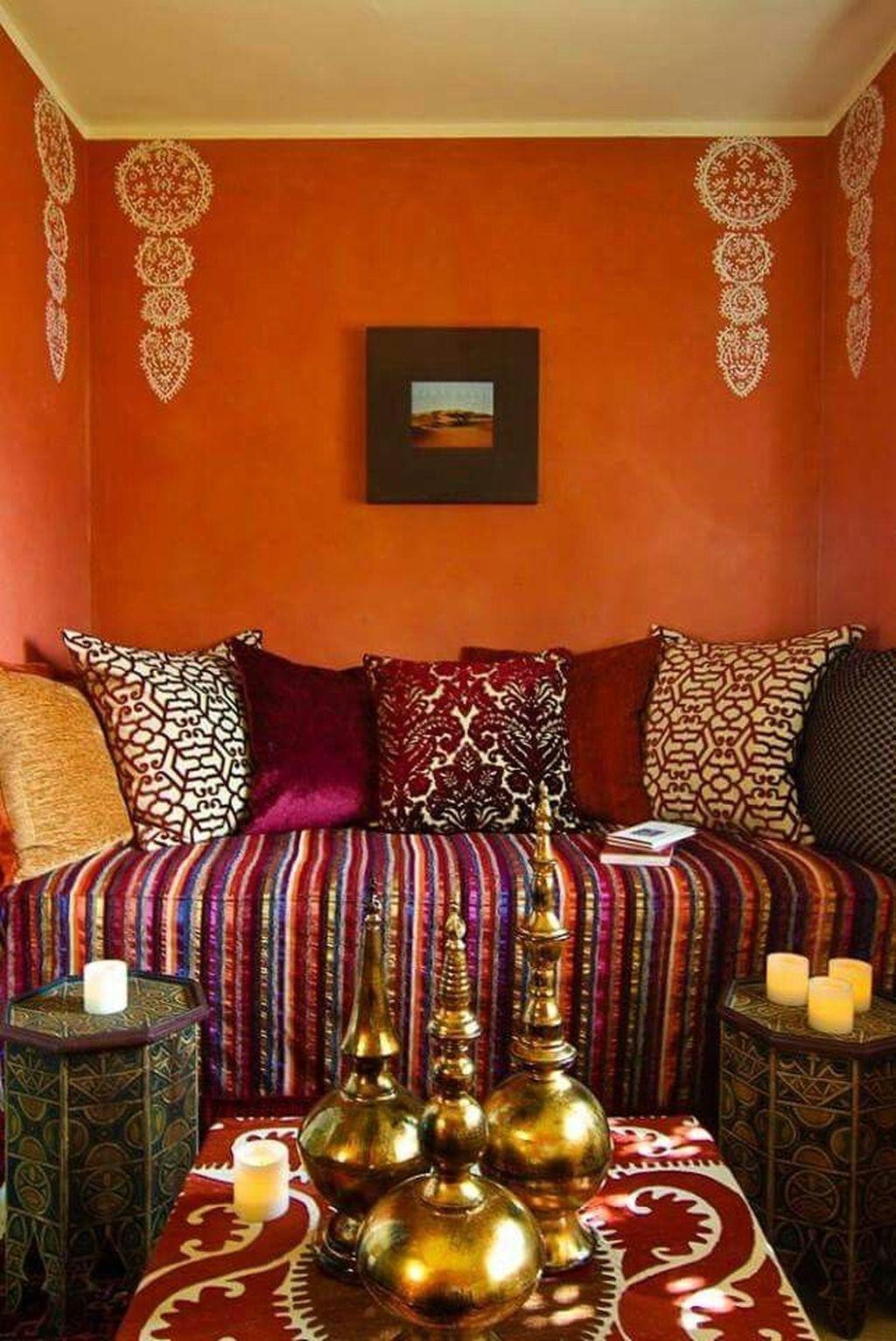 40 Fascinating Moroccan Bedroom Decoration Ideas #morrocan ...