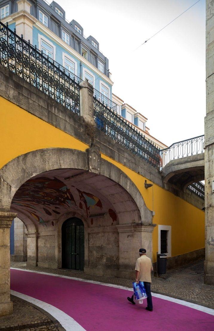 Rua Cor de Rosa ~ Lisbon, Portugal | José Adrião Arquitecto