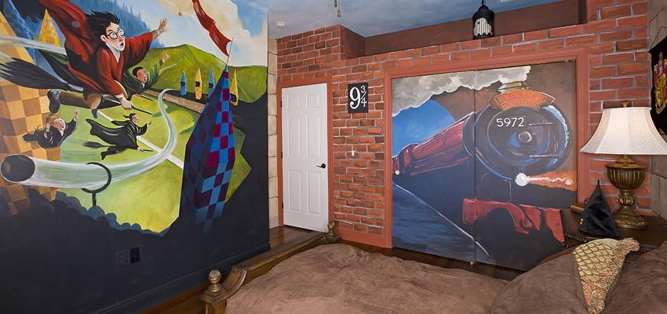 Harry Potter Mural Part 54