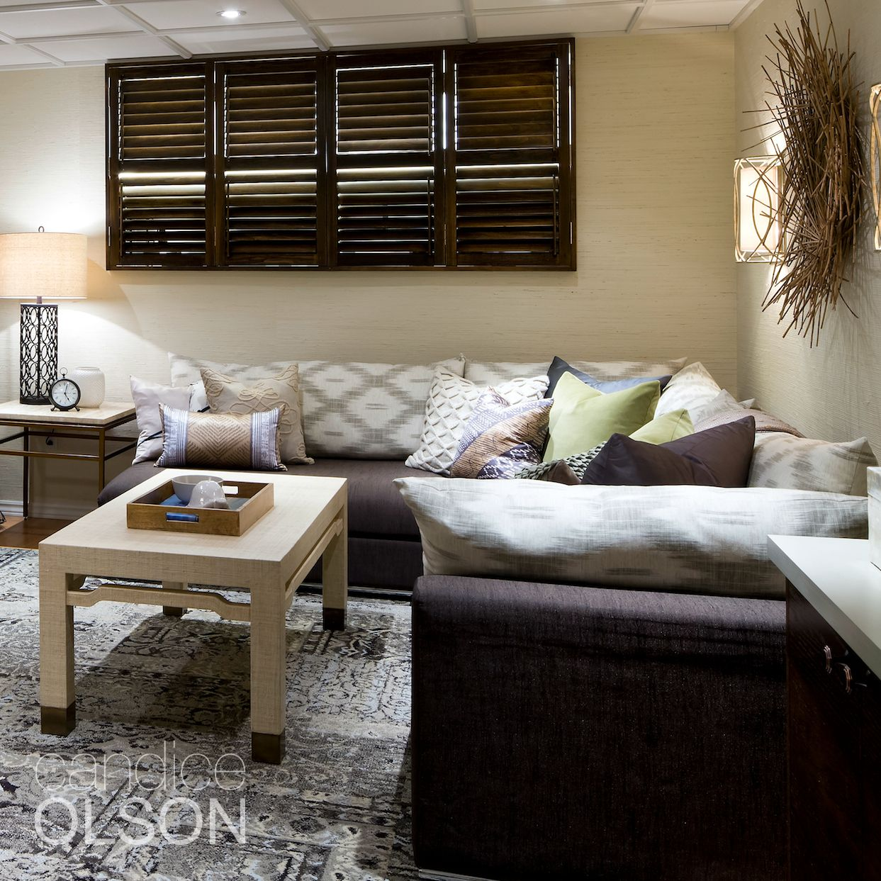 Candice Olson Basement Design: Does Your Basement Have Small Windows? You Are Not Alone