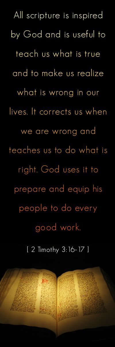 His Word Equips Us