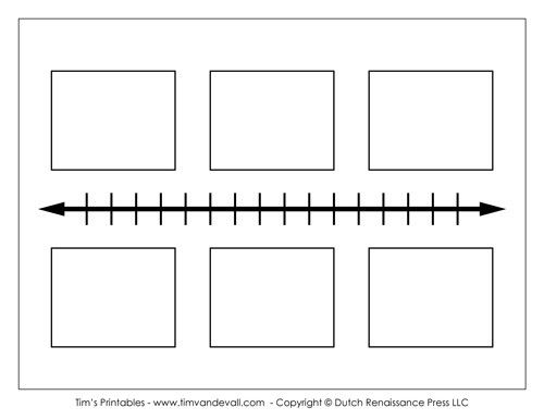 Timeline Blank Template Simple Guidance For You In