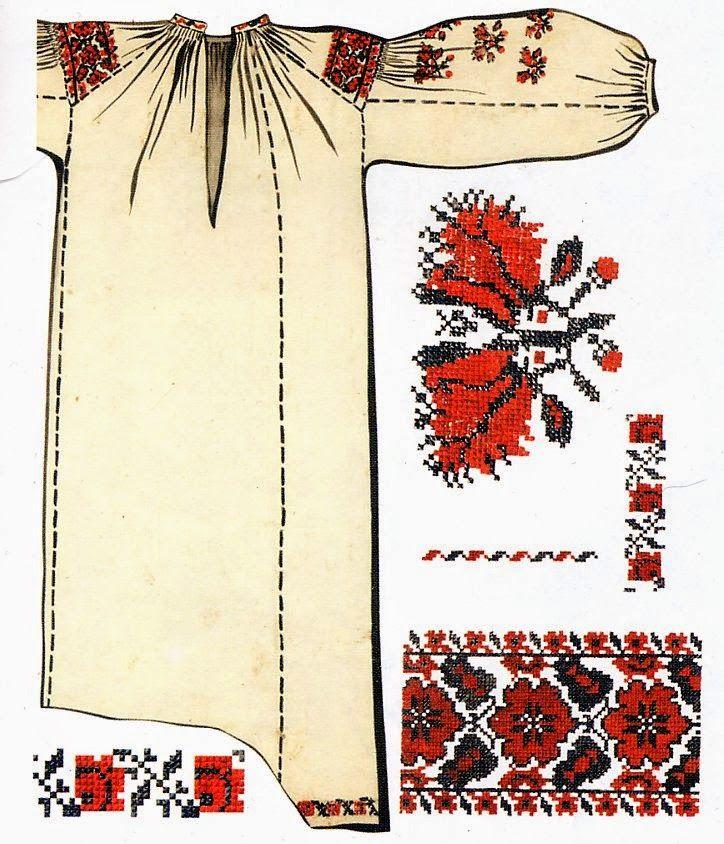 FolkCostume&Embroidery: Ukrainian Rose Embroidery | Costumes ...
