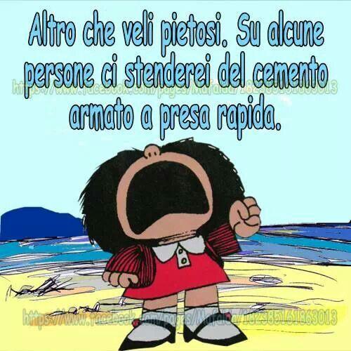 Anche questa volta Mafalda ha ragione | Citazioni divertenti ...