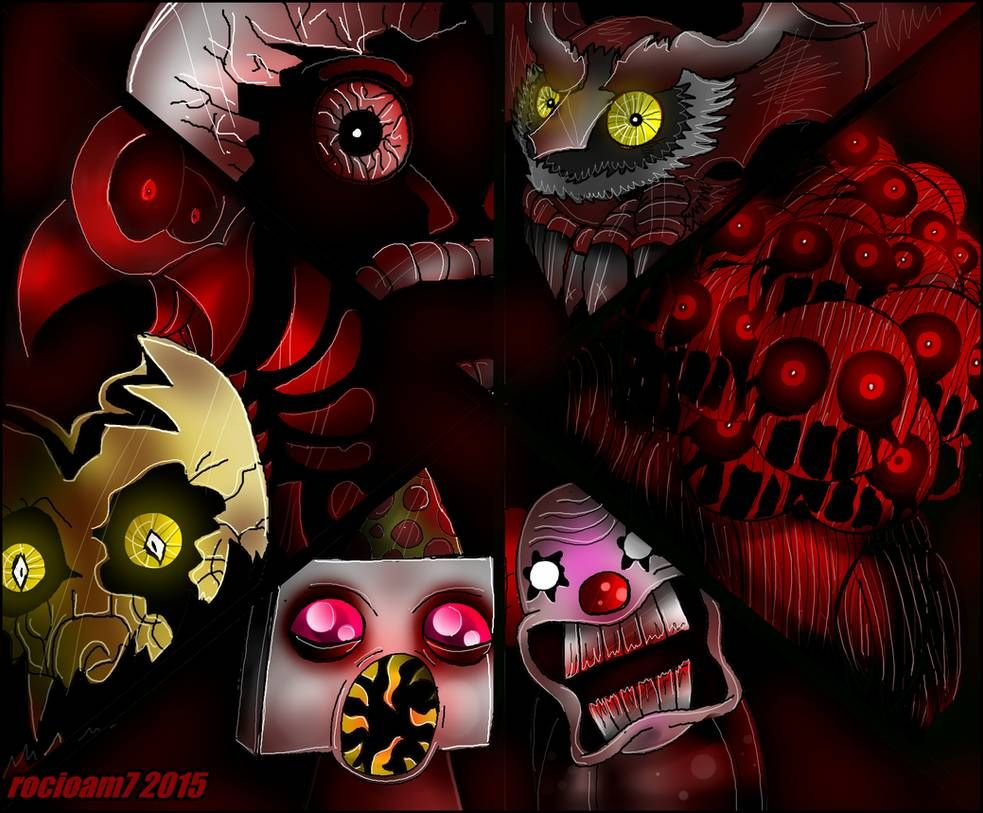 One Night At Flumpty S 2 2 By Rocioam7 On Deviantart First Night Horror Game Fnaf