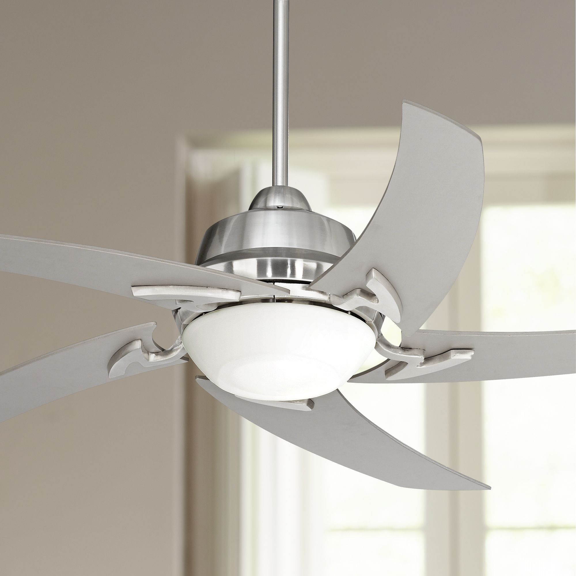 52 Quot Casa Vieja Modern Ceiling Fan With Light Led Remote