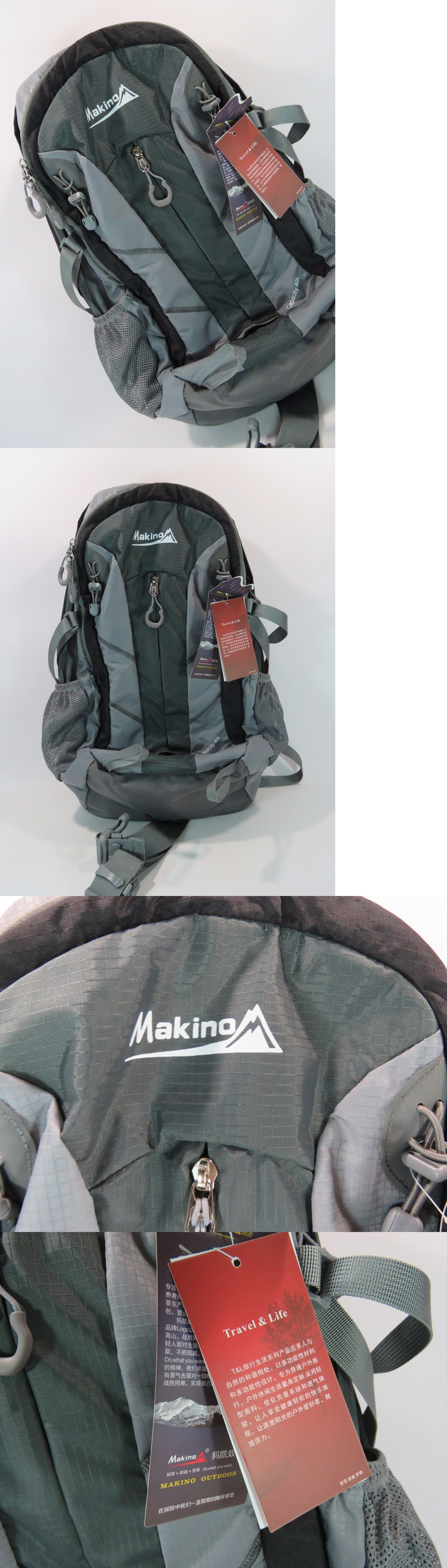 Other Camping Hiking Backpacks 36109  Makino 40L Travel Backpack Camping  Rucksack With Internal Frame Outdoor 1645e5fdfe
