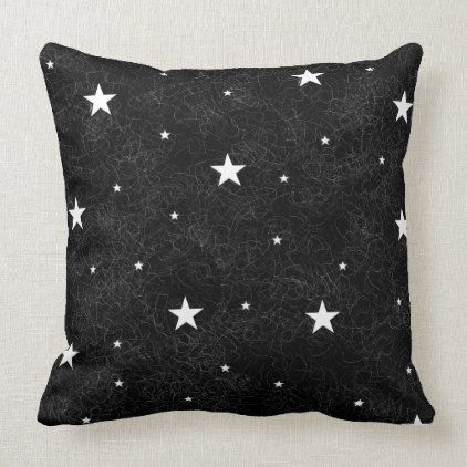 Midnight Sky Throw Pillow | Zazzle.com