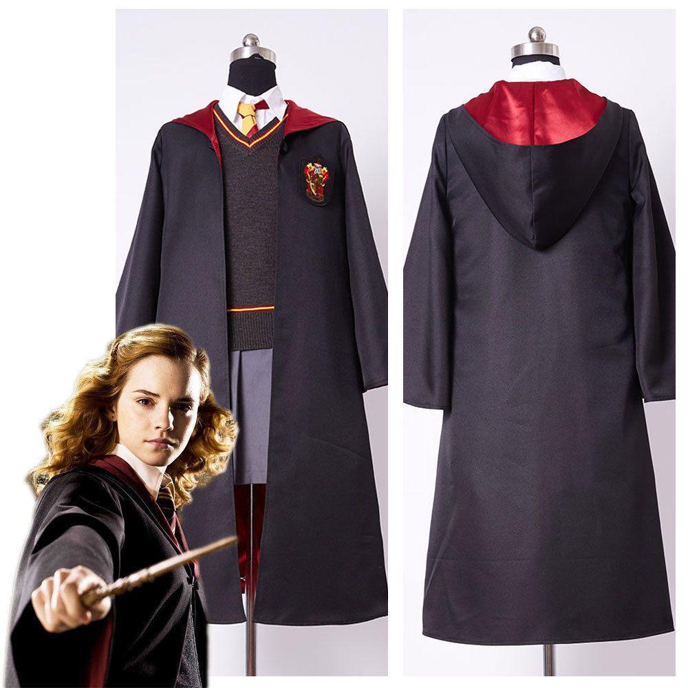 Kids Hermione Granger Style Fancy Dress Costume
