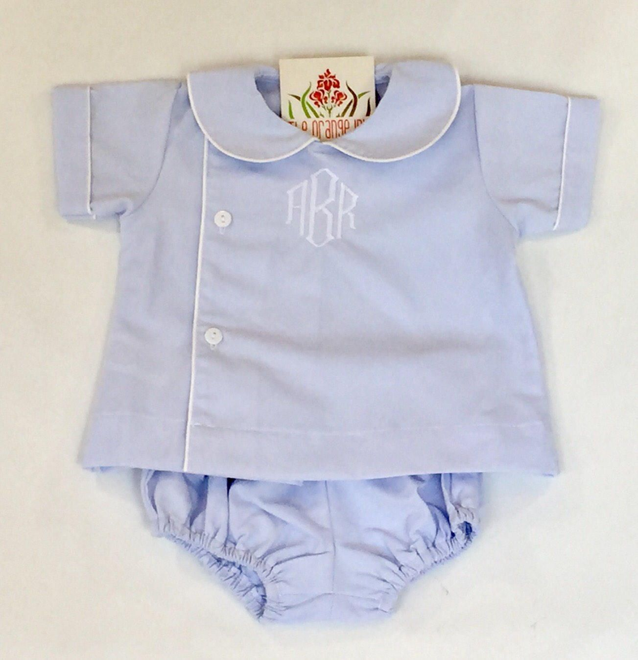 Monogrammed boys diaper set personalized baby gifts monogrammed boys diaper set personalized baby gifts personalized baby outfit baby boy bubble negle Choice Image
