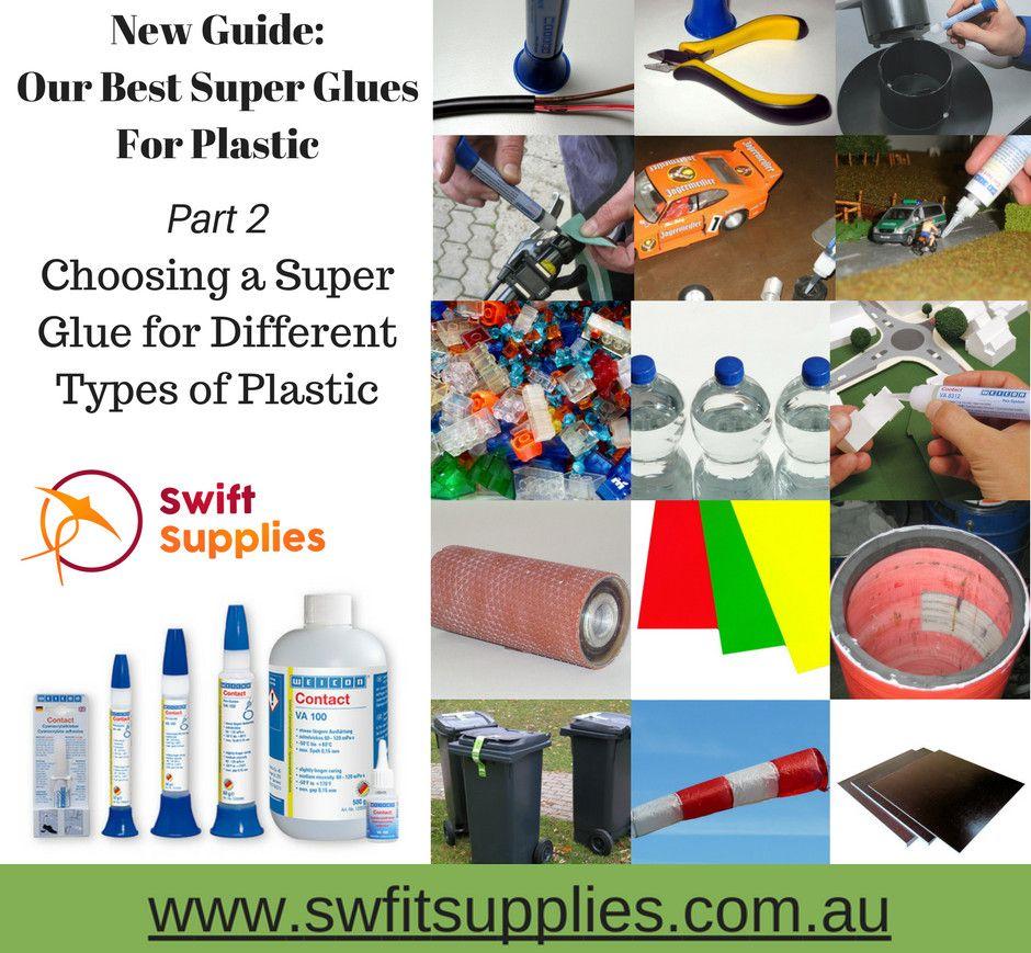 Super Gluing Plastic Can Be Tough Some Plastics Bond Easily
