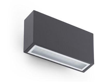 TANE LED Lampe applique gris foncé – Faro