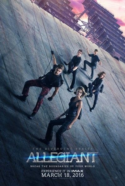 Details About Allegiant 2016 Original 27x40 Advance A Movie