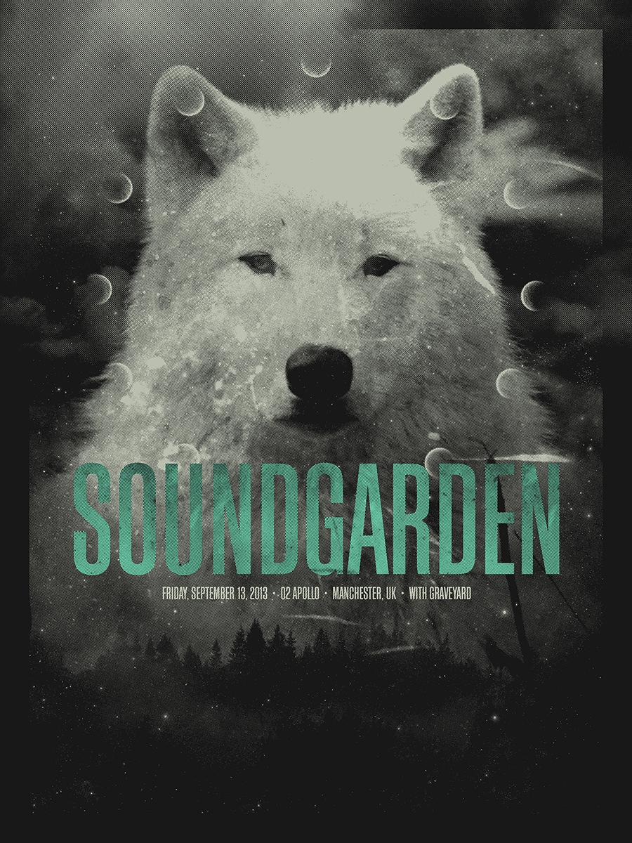 Gallery images and information soundgarden badmotorfinger tattoo - Soundgarden Manchester