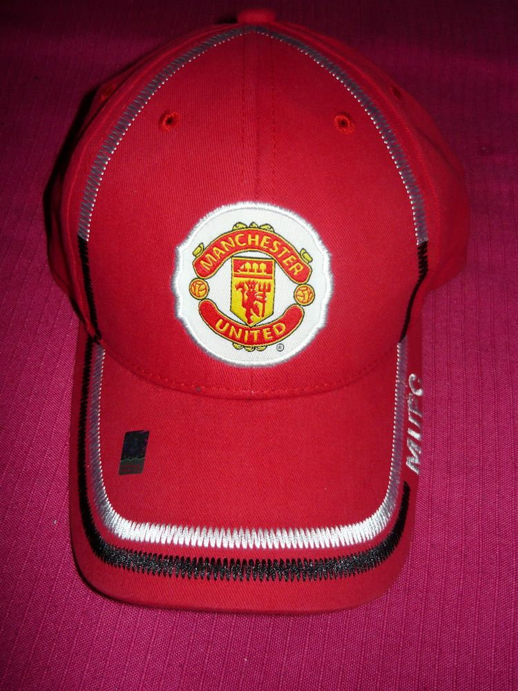 686be926d Licensed Manchester United MUFC Official Authentic Soccer Cap Hat Fast  Shipping  Rhinox  ManchesterUnitedFootballClub