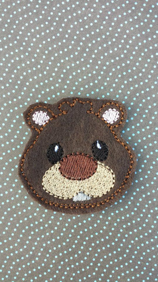 Beaver Feltie Clip