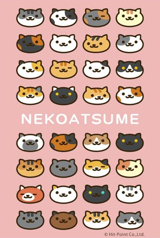my current background pic neko atsume in 2018 pinterest neko