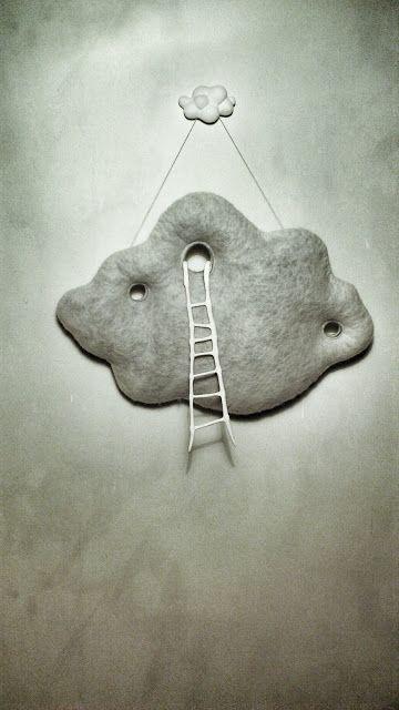 siiri - vilt op je hoofd: Cloud + ladder