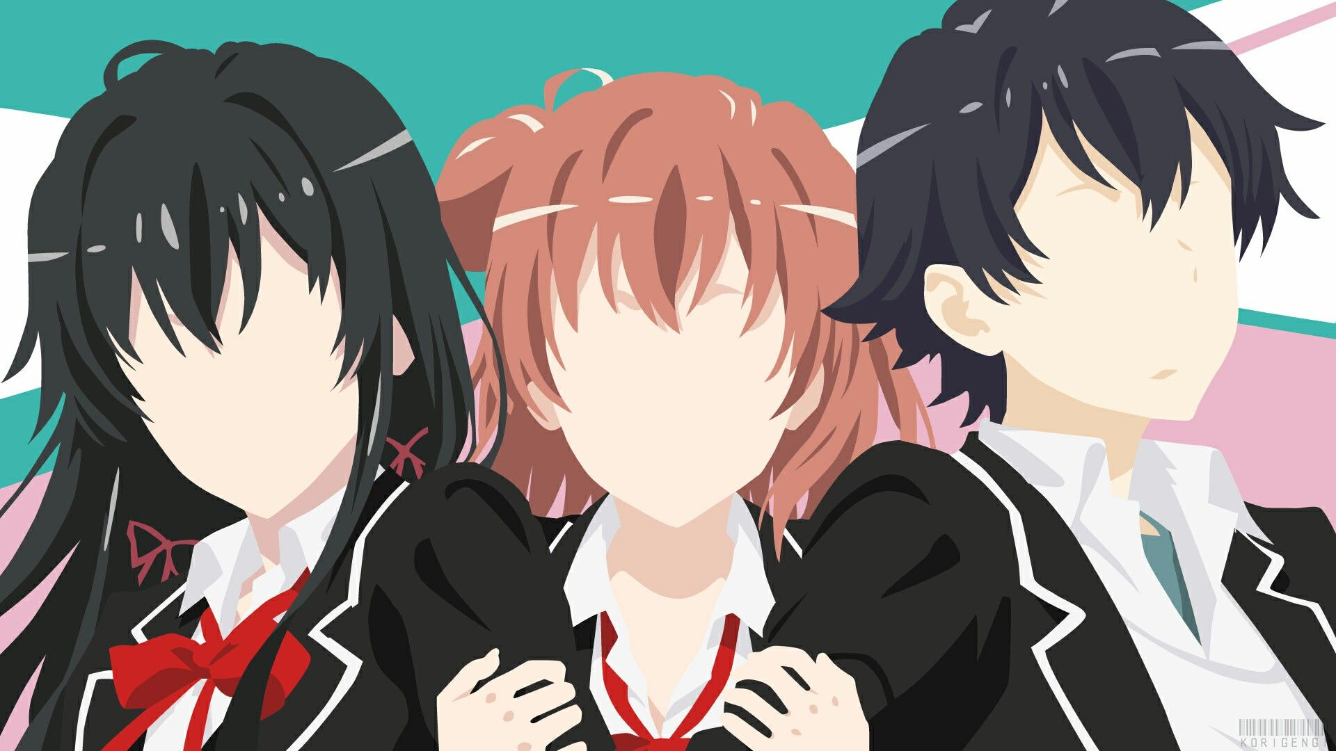 Pin by WACKY ARTISTRY on Oregairu Anime, Minimalist