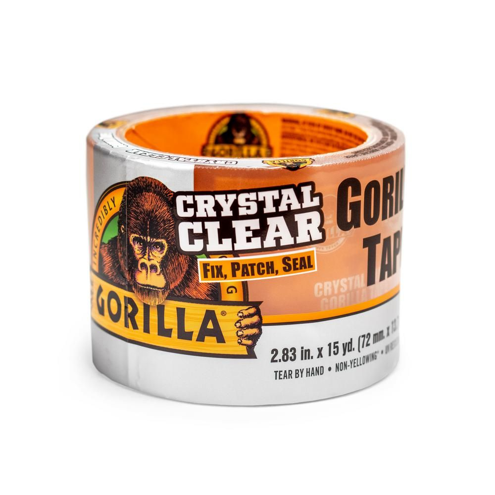 Crystal Clear Gorilla Tape Home Depot