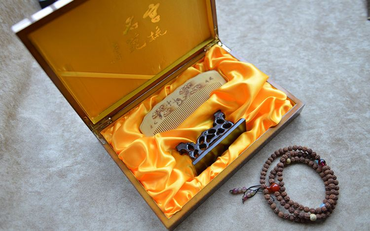 Name Collection Level Pyrography Leaflet Huang Yang Yunlong Play Beads Size 14 5 3 1cm Process Master Production Phone Corded Phone Landline Phone