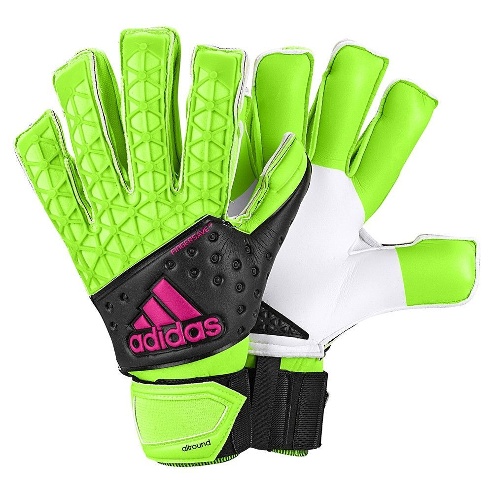 As the goalkeeper, you're the last line of defence. The difference between triumph and defeat. Make awe-inspiring saves and lead your club to victory with these ACE soccer goalkeeper gloves. Featuring