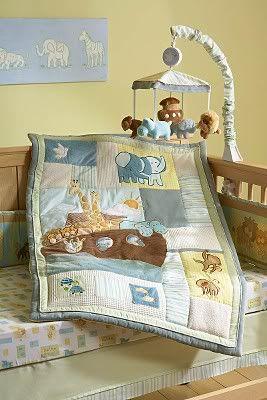 Noahs Ark Crib Bedding Sumersault Noahs Ark Baby Bedding Collection Baby Bedding And