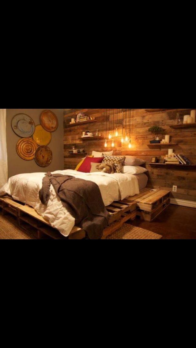 Plate form bed | House | Pinterest | Madera