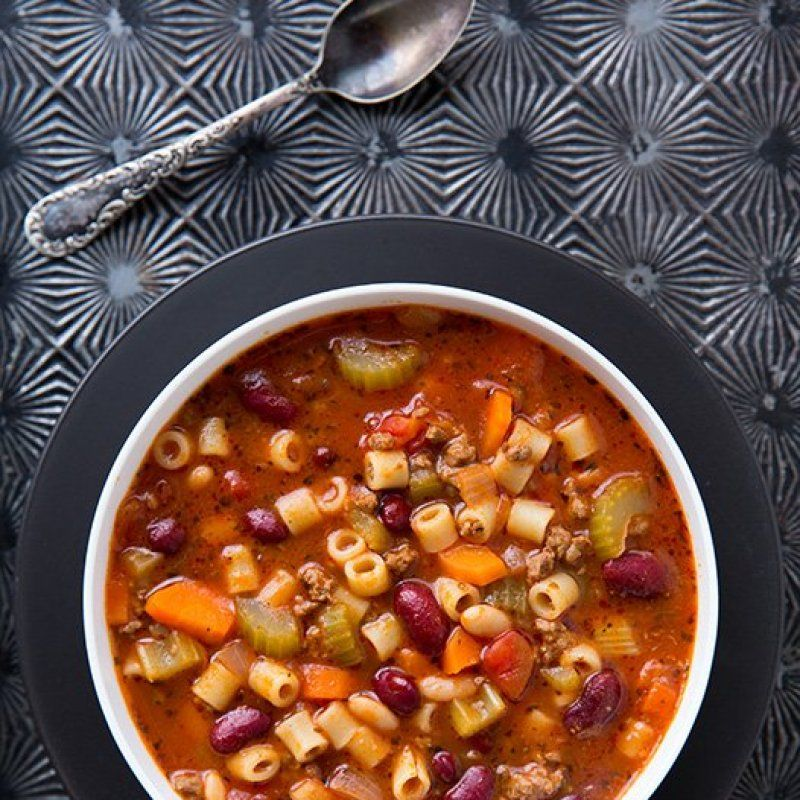 Say hello to soup season and another restaurant copycat recipe you can make at home. Whenever we'd to go to Olive Garden I use to always get the Minestrone...