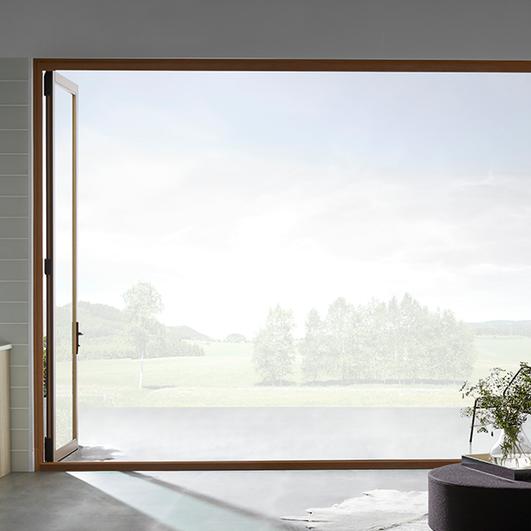 Architect Series Contemporary Bifold Patio Door Pella Patio