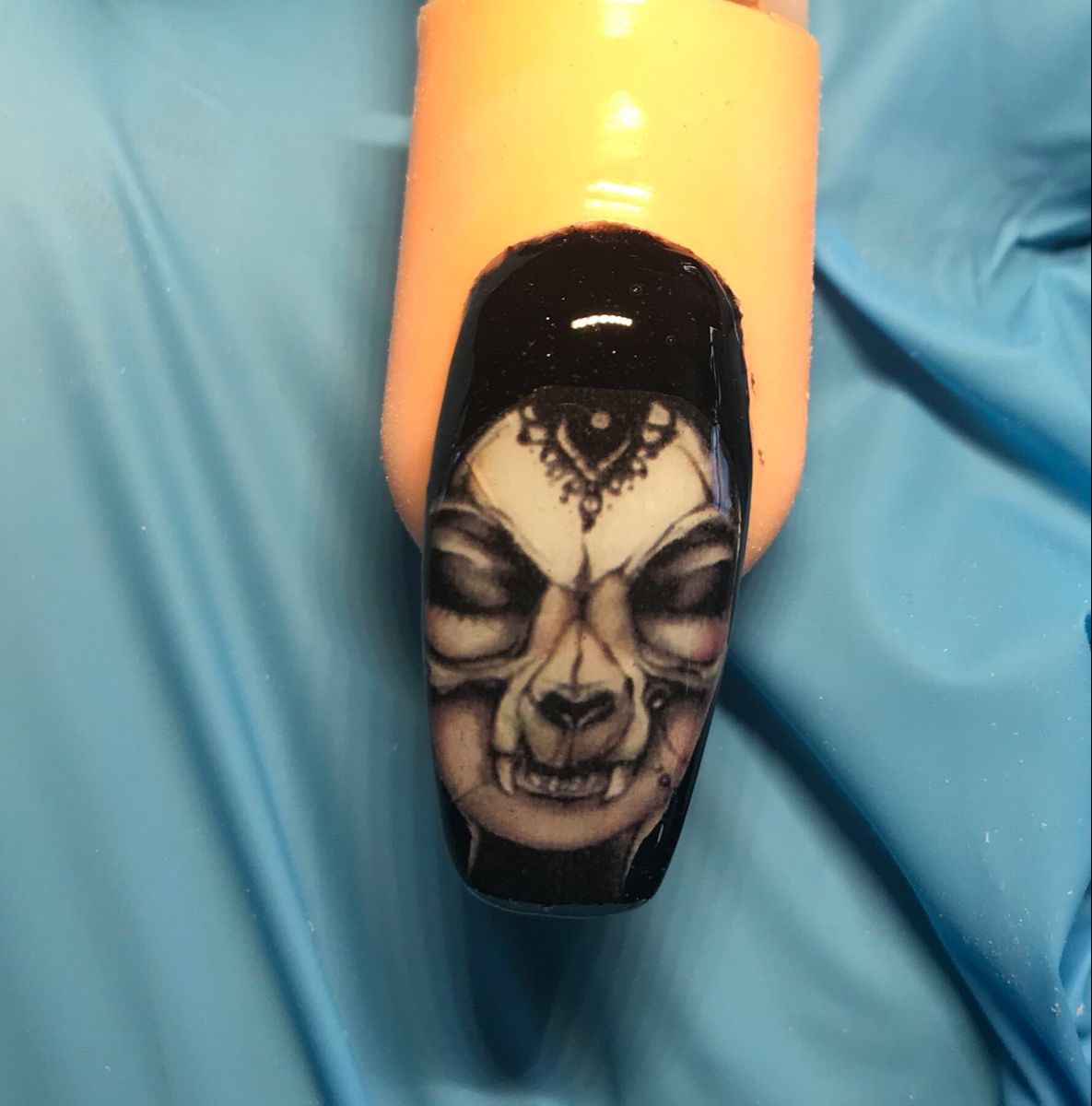 Halloween nagels