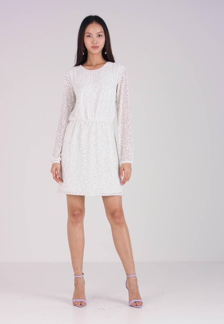 d8b04f4038ba21 BRIDAL YASBEADA DRESS - Cocktailjurk - star white   Zalando.be 🛒 in ...