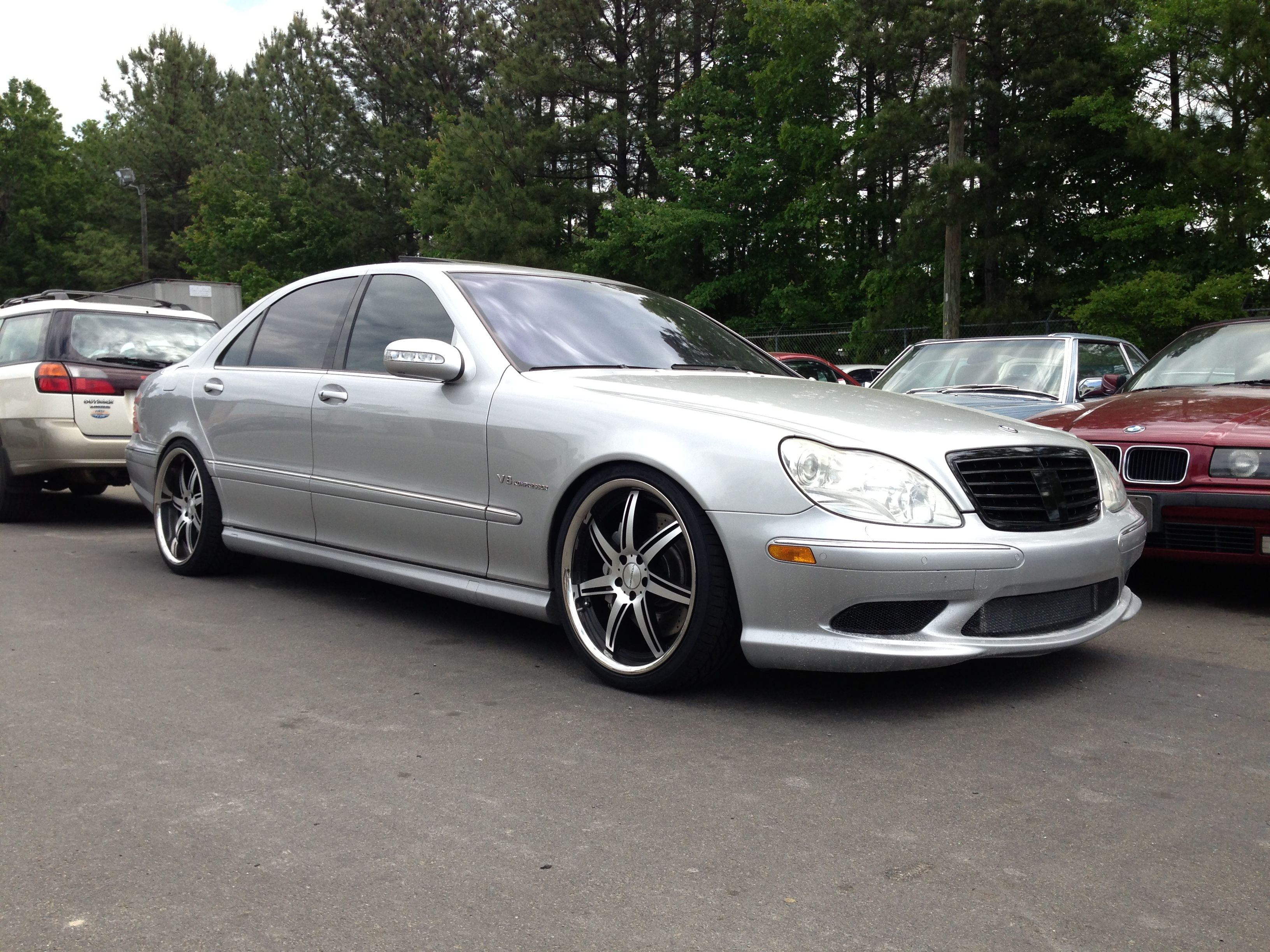 640hp S55 Amg Lowered On H Springs 20 Inch Vossens Mercedes S55 Amg Mercedes 320 Mercedes Benz