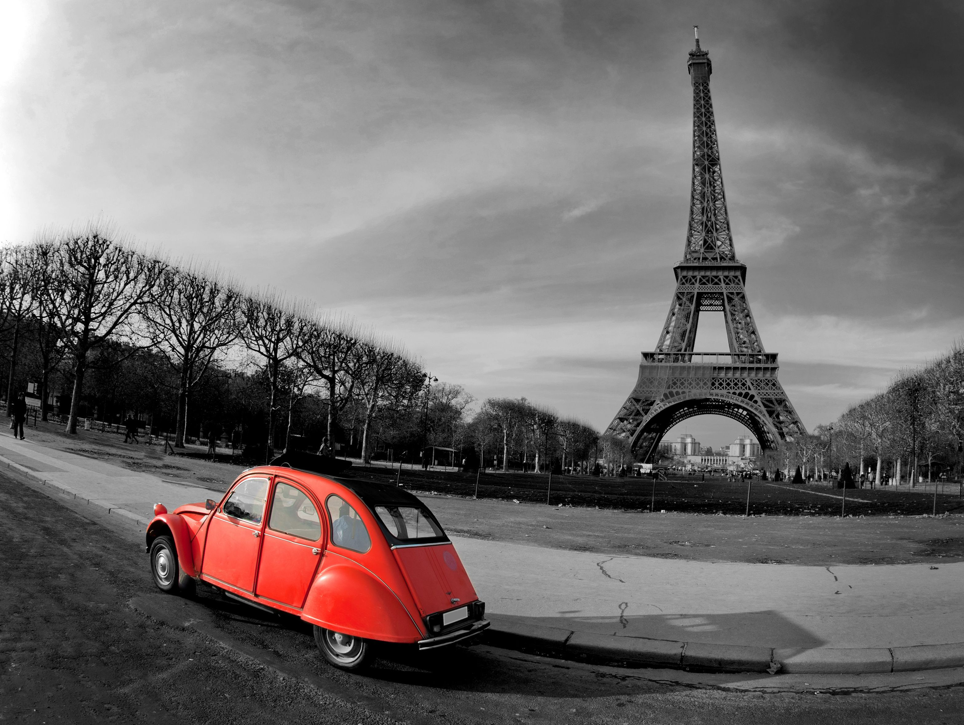 Black And White Paris Wallpapers 1080p