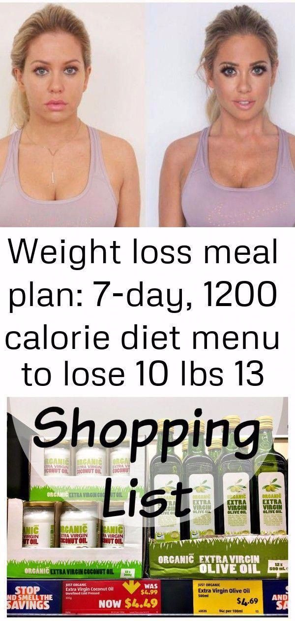 7day 1200 calorie diet weight loss meal plan to lose 10 LBS in a week ALDI Lo