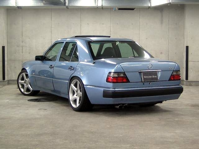 Brabus 6 0 W124 Based On Mercedes Benz E500 Japan With Images
