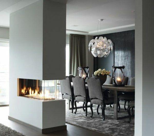 Les chaises de salle à manger - 60 idées - Archzinefr Luxury and - table de salle a manger grise