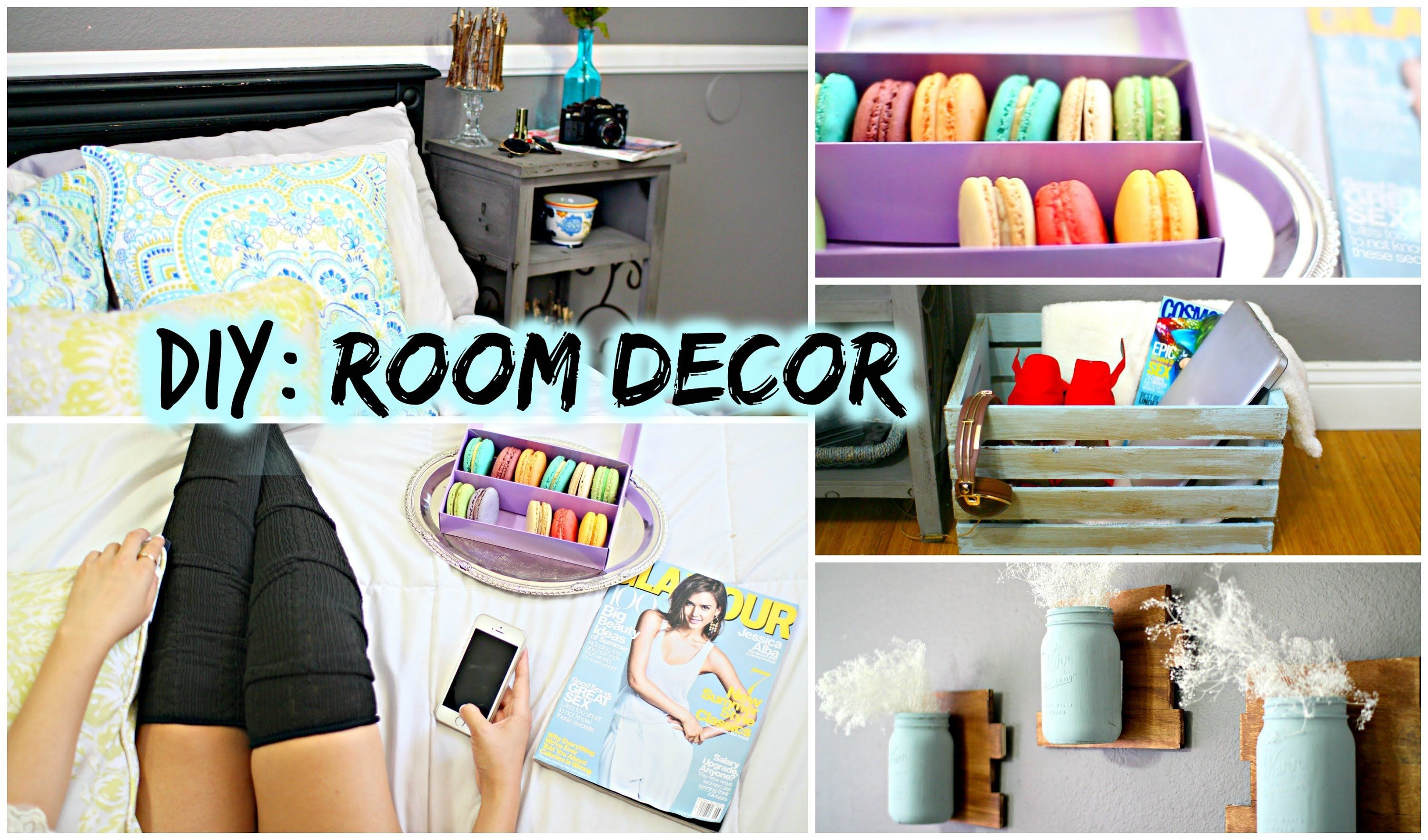 Bedroom wall decoration ideas pinterest - Diy Room Decor Love These Diys As Well If I Make All Of These Ideas From All Of