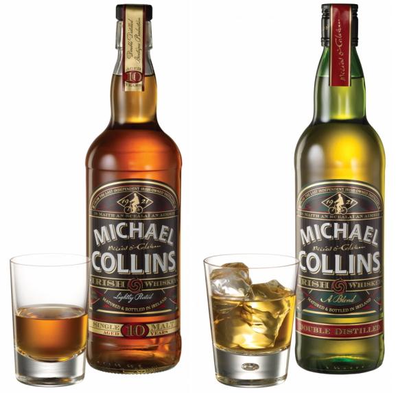 michael collins irish whiskey -really good.