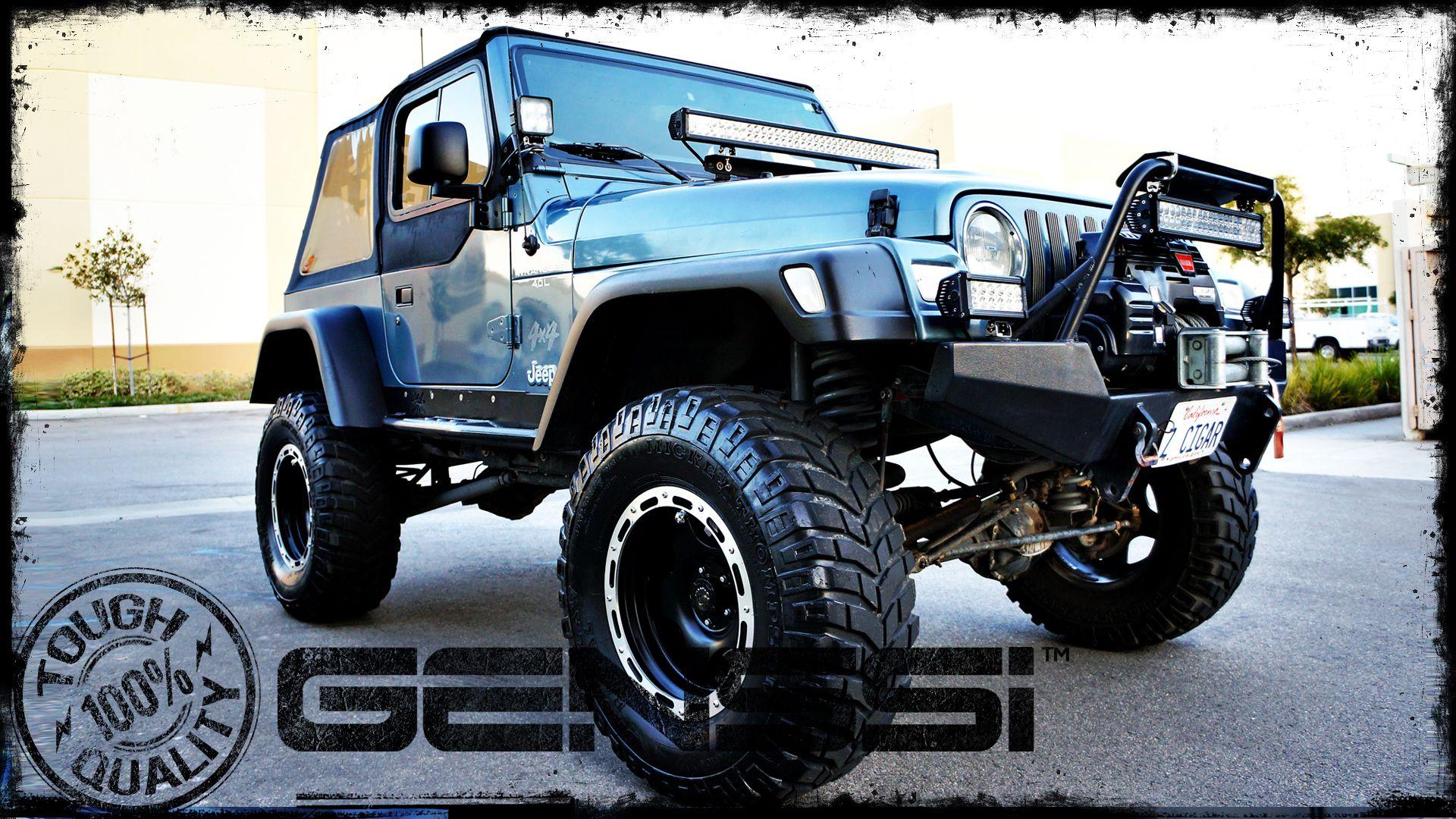 Jeep wranglers jk tj yj with custom light bars headlights grilles jeep wranglers jk tj yj with custom light bars headlights grilles hoods and aloadofball Choice Image